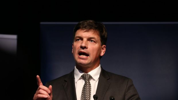 Digital Innovation Minister Angus Taylor.