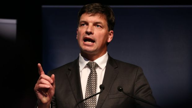 Going to market: Assistant Minister for Digital Transformation Angus Taylor.