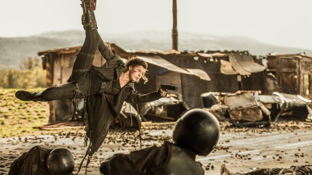 Greatest action heroine?: Milla Jovovich reprises her role as Alice in <i>Resident Evil: The Final Chapter</i>.