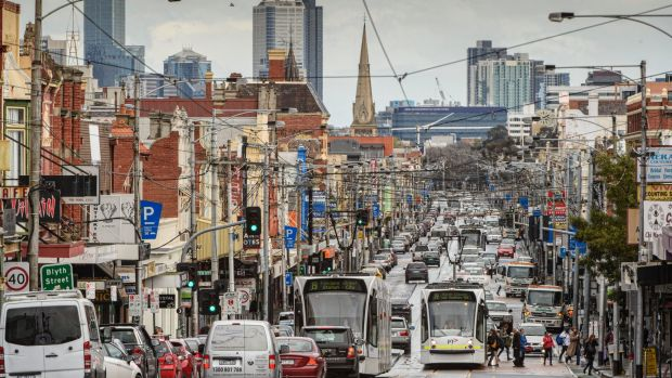 Sydney Road, Brunswick: Multicultural and increasingly middle-class but still home to mobsters.