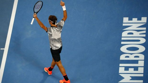 """Roger Federer: """"I never ever thought in my wildest dreams that I'd be coming this far in Australia but here I am."""""""