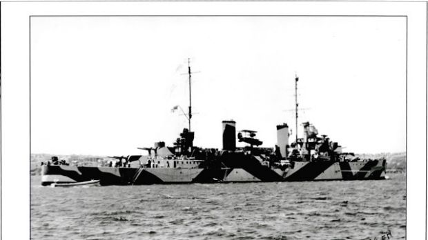 The HMAS Perth was much beloved by all who served on her.