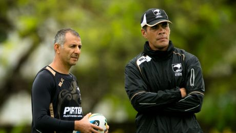 Hold steady: Kearney has stressed the importance of stability in his bid to rebuild the Warriors.