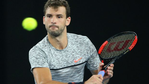 Grigor Dimitrov: went down fighting.