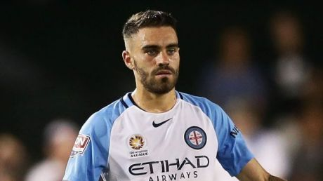 Moving on: Melbourne City midfielder Anthony Caceres.