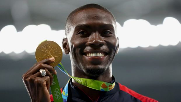 Run the World: Olympic gold medallist Kerron Clement is ready to bring the entertainment to the Nitro athletics meet.