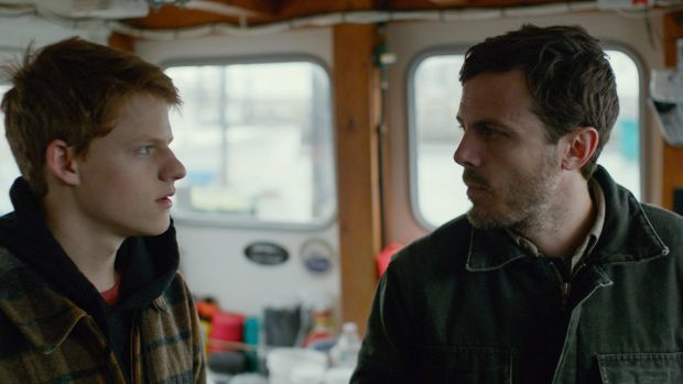 Lucas Hedges (left) and Casey Affleck add to the many fine performances in <i>Manchester by the Sea</I>.