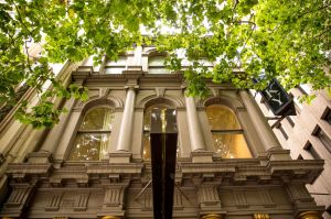 Exterior images of Kozminsky Jewellery on Bourke St.
