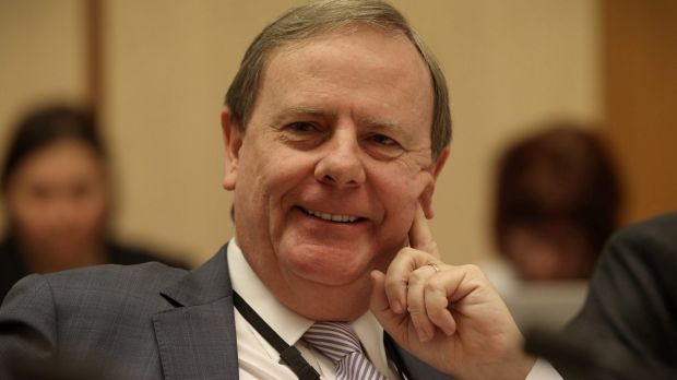 Former federal treasurer Peter Costello handed out tax cuts assuming the mining boom would roll on.
