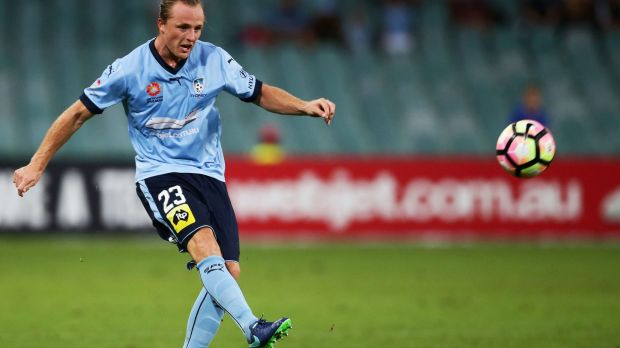 Injury blow: Sydney FC need to find a replacement for Rhyan Grant at right back.