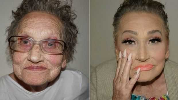 Grandma Livia stands as proof that beauty can and should be fun at any age.