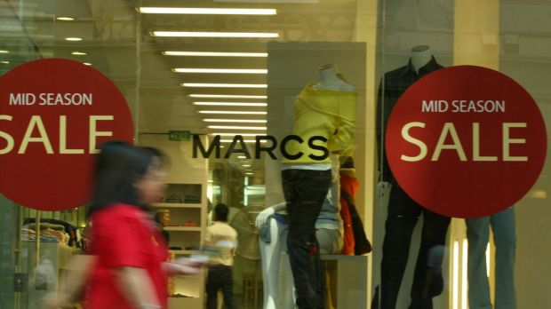 Myer has acquired two of its most popular brands, Marcs and David Lawrence, which collapsed in February.