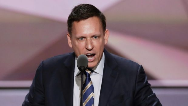 Peter Thiel: 'No other country aligns more with my view of the future than New Zealand.'