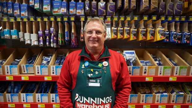 Peter  Davis, managing director of Bunnings in Britain.