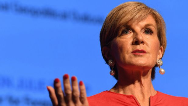 Foreign Minister Julie Bishop is developing a new Foreign Policy White Paper.