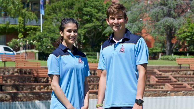 Canberra Grammar School's uniform, including shorter socks and lightweight fabrics, reflects the school's choice to make ...
