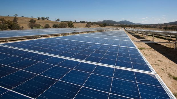 "solar act The 11mw williamsdale solar farm in the act, 20km south of canberra, has been completed and the act government's impressive ""solar."