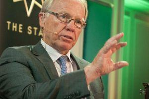 Hot seat: Peter Beattie says he's a humble servant of the game, not it's next leader.