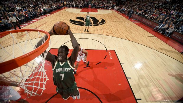 They 'deserve better': Thon Maker has hit out at the immigration ban imposed on seven countries.