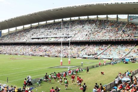 Knockdown proposal:  A general view during the Sydney Sevens at Allianz Stadium.