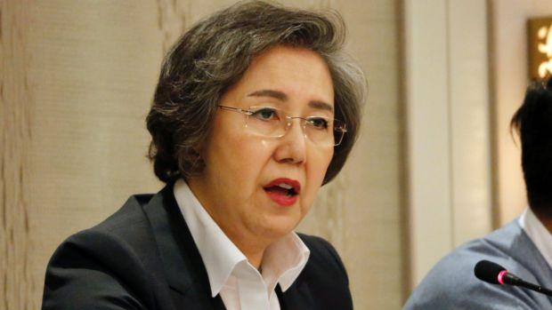 Yanghee Lee, UN Human Rights Special Rapporteur to Myanmar.
