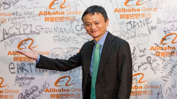 Alibaba's Jack Ma recently visited Melbourne to open an Australian office for his business.