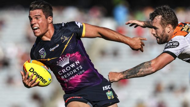 Brodie Croft was one of the stars of the Auckland Nines tournament.