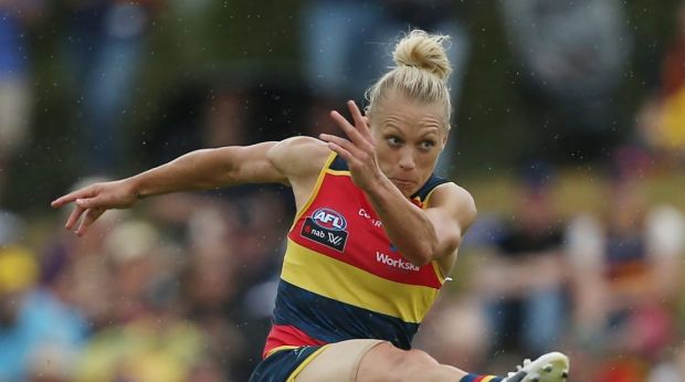 Erin Phillips kicked the winner for Adelaide.