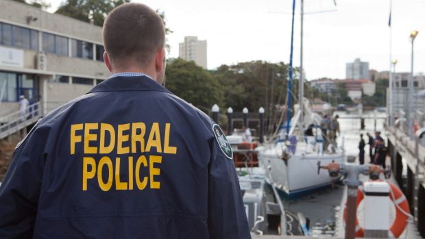 Australian Federal Police arrested the man at the Williamstown Botanic Gardens after arranging to meet the supposed ...