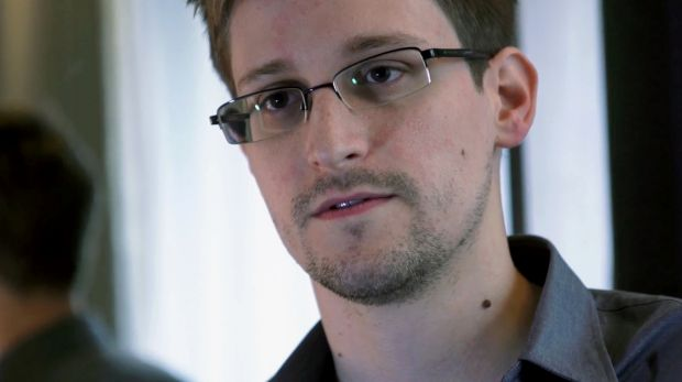 Edward Snowden, who leaked NSA files, in 2013.