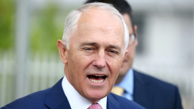 "Mr Turnbull told reporters on Thursday Mr Shorten ""is a complete hypocrite""."