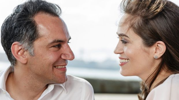 Ross Farhadieh asked his wife Yasamin to marry him just hours after they met (she agreed).
