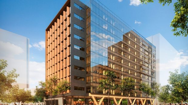Lendlease has sold its tallest engineered timber office building, 5 King at Brisbane Showgrounds, in a deal worth $140 ...