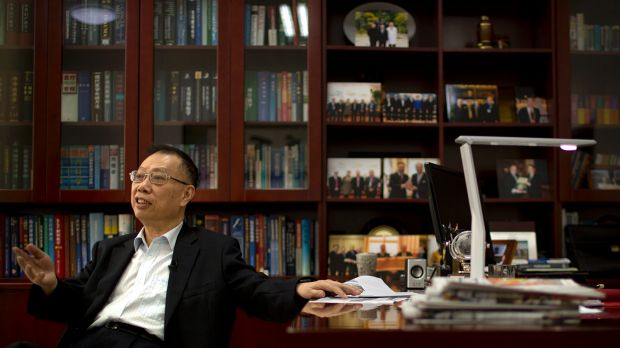 Dr Huang Jiefu, a former vice health minister who has been the public face of China's changes in organ transplants.