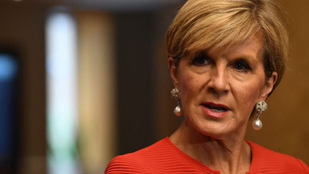 Foreign Minister Julie Bishop's pronouncements on the need for a rules-based international system will ring hollow if ...