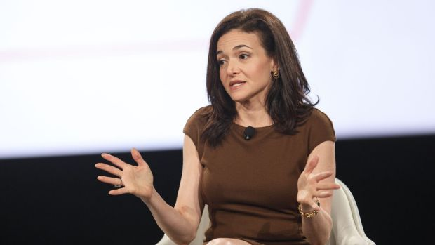 """""""This is personal for me,"""" said Facebook COO Sheryl Sandberg, whose husband died suddenly two years ago."""
