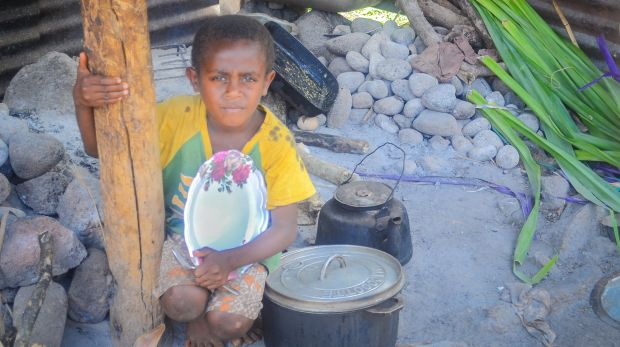 CleverHeart plans to change lives in rural villages like this on the Vanuatuan island of Emao where people cook without ...