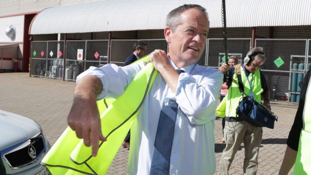 Bill Shorten is set to announce Labor's plans for skilled migration visas.