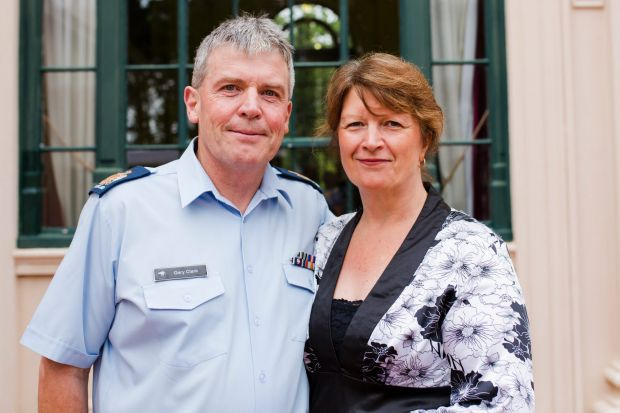 Gary and Sue Clark, of Griffith.