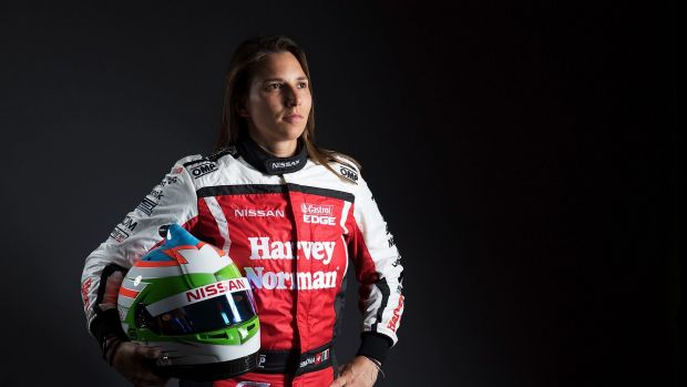 Driving force: Simona de Silvestro is gearing up for the new season.