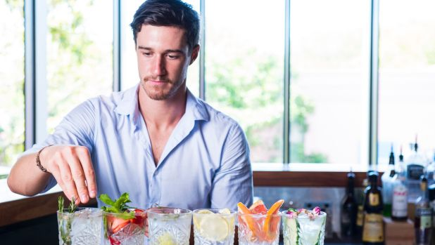 Kurtis Bosley ditched a career in architecture for a career in bartending.