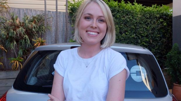 Driven to distraction: Brisbane Uber driver Bridget Dominic is often lectured on the so-called perils of driving.