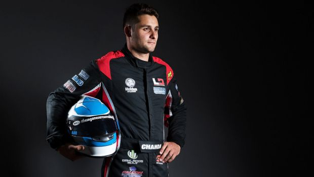 Driver Matt Chahda was on stage for the Supercars season launch when he heard CAMS had refused his licence.
