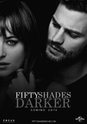 The poster for <i>Fifty Shades Darker</i>.