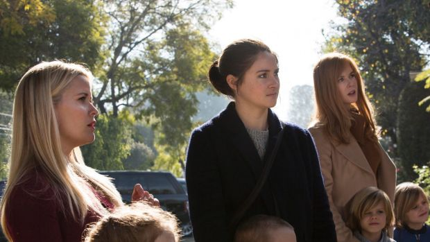 (From left) Reece Witherspoon, Shailene Woodley  and Nicole Kidman star in <i>Big Little Lies</i>, a mini-series that ...