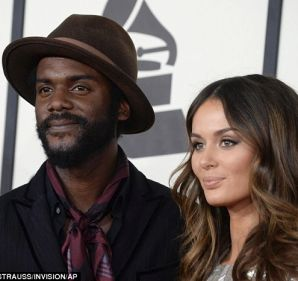 Model Nicole Trunfio and Gary Clark Jr.