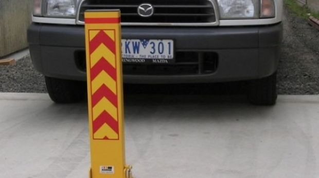 Bollards can put an end to car-park disputes.