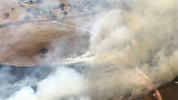 Bushfires starting early: the RFS says it will move forward the official fire season for nine local government areas.
