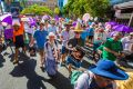 BRISBANE, AUSTRALIA - FEBRUARY 11: Prolife march in Brisbane on February 11, 2017 in Brisbane, Australia. (Photo by ...