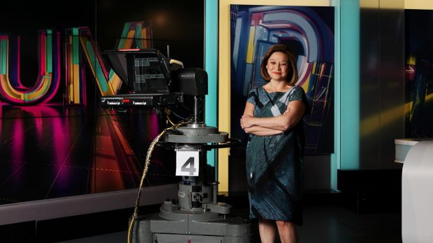 Managing director Michelle Guthrie revealed her restructure a day earlier.